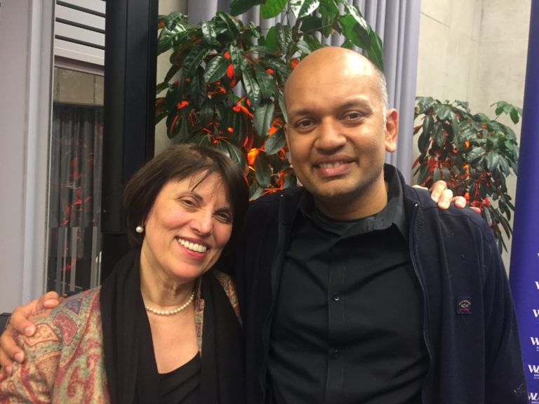 Nipun and Martina Vienna Jan 2020